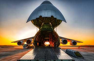 Image of cargo freight plane